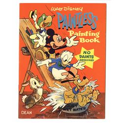 Pair of Disney Paintless Paint Books.