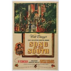 """Song of The South"" Original Release Movie Poster."