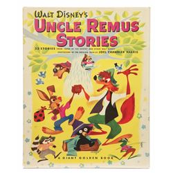 """Walt Disney's Uncle Remus Stories"" Hardcover Book."