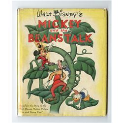 """Mickey and the Beanstalk"" Hardcover Book."