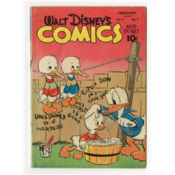 Set of (3) Issues of Walt Disney Comics.