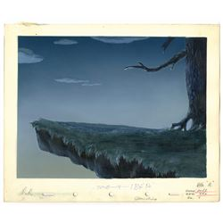 "Original Production Background from ""Fun and Fancy Free""."