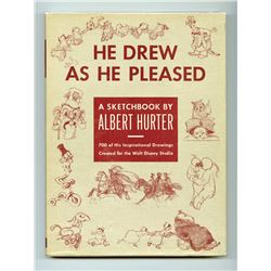 "Rare First Edition ""He Drew As He Pleased""."