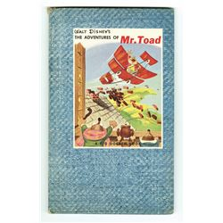 """The Adventures of Mr.Toad"" Big Golden Book."