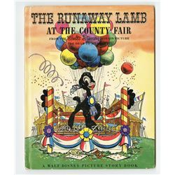 """The Runaway Lamb at the County Fair"" Hardcover Book."