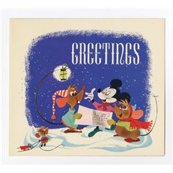 Disney Studio Christmas Card for 1949.