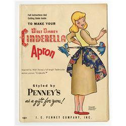 Cinderella  Apron Pattern.