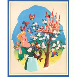 "Original Illustration Art from ""Cinderella"""