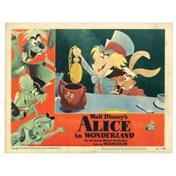 """Alice in Wonderland"" Lobby Card Set."
