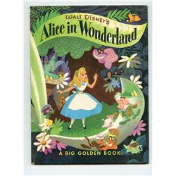 """Alice in Wonderland "" Big Golden Book."