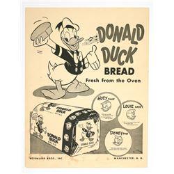Donald Duck Bread Poster.