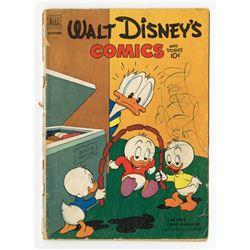 Walt Disney Signed Comic Book.