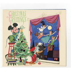 Disney Studio Christmas Card for 1952.