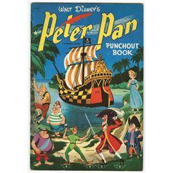 """Peter Pan Punchout Book""."