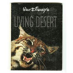"""""""Walt Disney's Living Desert"""" Documentary Art Book."""