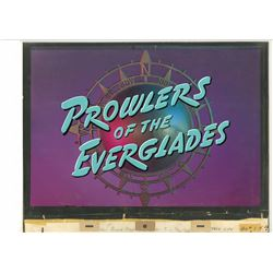 "Original Title Cel and Background from Walt Disney's ""True-Life Adventures""."