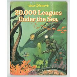 """""""20,000 Leagues Under the Sea"""" Hardcover Book."""