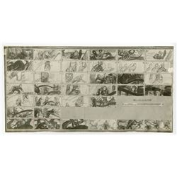"""Rare collection of (4) Studio Photostat Storyboard Sheets from """"20,000 Leagues Under the Sea""""."""