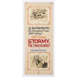 """""""Stormy the Thoroughbred"""" Theater Display."""