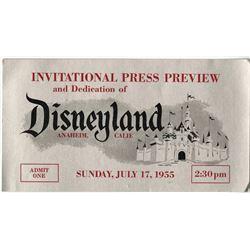 Disneyland Opening Day Pass.