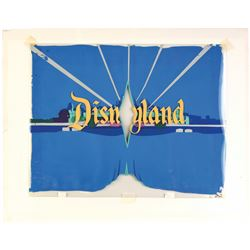 """Opening Title Production Cels for the """"Disneyland"""" TV Show."""