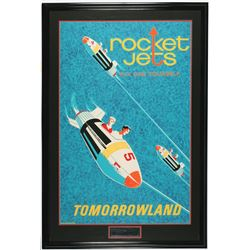 Original Disneyland Rocket Jets Attraction Poster.