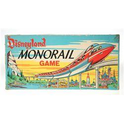 Disneyland Monorail Board Game.