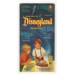 """""""Your Trip to Disneyland"""" (5) Record Set By Mattel."""