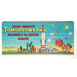 Tomorrowland Rocket to the Moon Board Game.