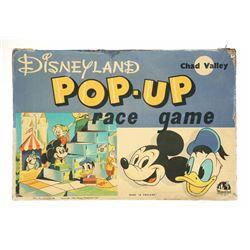 Disneyland Pop-Up Race Game.