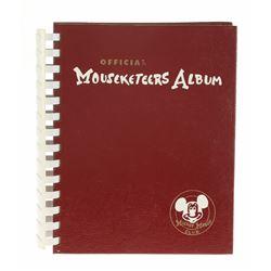 "Rare Unused  ""Official Mouseketeers Album""."