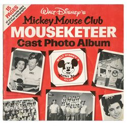 Mickey Mouse Club Mouseketeer Cast Photo Album Book.