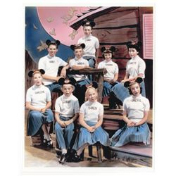 Collection of  (16) 8x10 Mickey Mouse Club Publicity Photos.