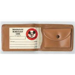 Mickey Mouse Club Wallet