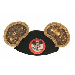 Rare Original Mickey Mouse Club Talent Round-up Ears.