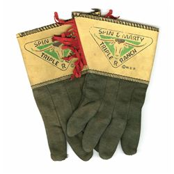 """Spin and Marty"" Ranch Gloves"
