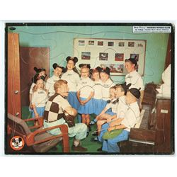 Mickey Mouse Club Tray Puzzle.
