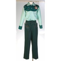 Mickey Mouse Club Cubby Western Shirt and Trousers.