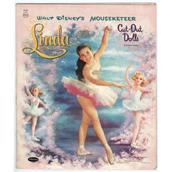 Mouseketeer Linda Cut Out Dolls Book.
