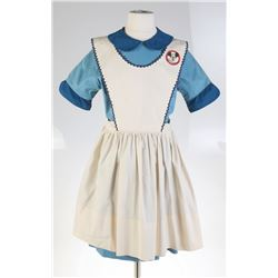 Mickey Mouse Club Dress and Apron Costume.