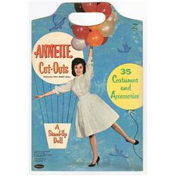 "Annette Cut-Outs ""A Stand-up Doll""."