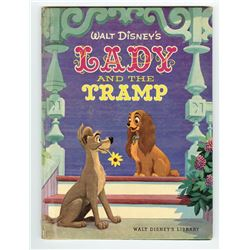 """Lady and the Tramp"" Hardcover Book."