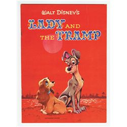 """Lady and the Tramp"" Book."