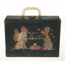 """Lady and the Tramp"" Suitcase."