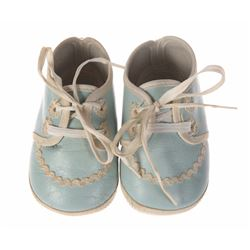 "Walt Disney's ""Bambi"" Baby Shoes - Blue."