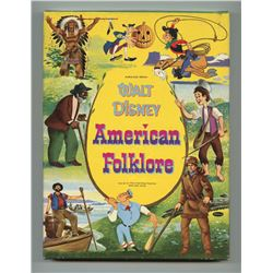 Walt Disney American Folklore Hardcover Book in Box.