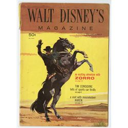 Collection of (4) Issues of Walt Disney Magazine.