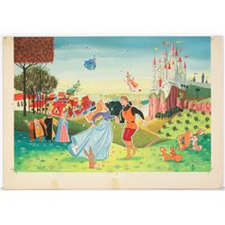 "Original ""Sleeping Beauty"" Merchandise Art."