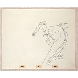 "Original Production Drawing from ""Sleeping Beauty""."