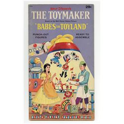"Walt Disney's ""The Toymaker"" Punch-Out Book."